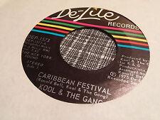 Kool & The Gang 45 Caribbean Festival De-Lite 1573 Funk NM-