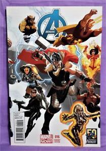 Jonathan Hickman AVENGERS #16 Daniel Acuna Variant Cover (Marvel, 2013)!