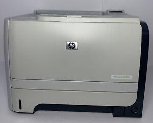 HP LaserJet P2055D USB Laser Printer W/used Toner. No power cable. Tested Works!