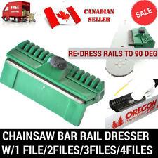 1PC CHAINSAW BAR RAIL DRESSER WITH FILE FITS STIHL HUSQVARNA ECHO OREGON MAKITA