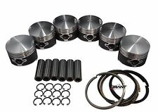 QSC Porsche 911  84mm Pistons Set CR 8.5 with Grant Piston Rings