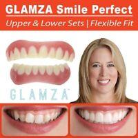 Smile Perfect Snap TOP & BOTTOM Veneers Instant Cosmetic Teeth Cover Fix Cap UK