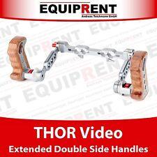 Thor vidéo Extended Double side Handles/rig poignées pour 15mm/19mm rods eqt12