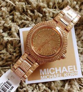 Michael Kors Camille Glitz Rosegold MK5862 Watch