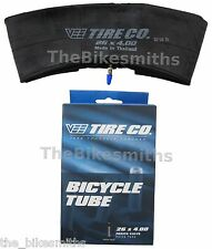 "Vee Rubber Presta Valve 26"" x 4.0  Fatbike Fat Tire Bike PV Inner Tube 4"" BULK"