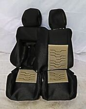 Ford Transit Custom Double Passenger Seat Cover in Ecko in Medium Stone