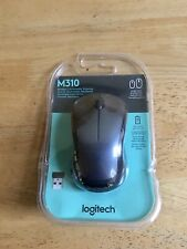 Logitech - M310 Wireless Optical Mouse -Brand New In Box - Black