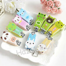 Kawaii Cartoon Animal Nail Clipper Scissor Cutter Kids Dog Cat Bear Gift 1pc