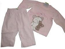 Topolino toller Schlafanzug / Pyjama Gr. 68 rosa mit niedlichen Applikationen !!
