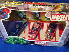 Johnny Lightning MARVEL 2002 1/64 Scale HULK SPIDERMAN & WOLVERINE Diecast Set