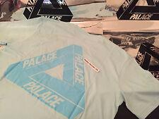 PALACE SKATEBOARDS SS16 MEDIUM CHILL BLUE CLASSIC TRI FERG FLOCKA TEE T-SHIRT M