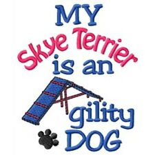 My Skye Terrier is An Agility Dog Short-Sleeved Tee - Dc1978L