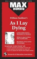 As I Lay Dying (Maxnotes Literature Guides) (Paperback or Softback)