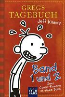 Gregs Tagebuch - Band 1 und 2 Doppelband Jeff Kinney Taschenbuch Gregs Tagebuch