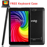 """GSM NEW!! 2-in-1 SmartPhone 4G LTE + WiFi Tablet PC 7"""" Android 9.0 Pie Black"""