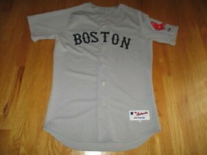 Authentic Majestic BOSTON RED SOX (Size 44) Baseball Jersey