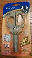 Westcott Wild Ones Children's Safety Scissors Tusk Elephant 5 Inch - Single New