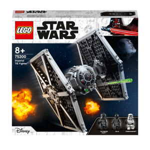 Lego 75300 Star Wars Imperial TIE Fighter Space Ship with Pilot Brand New Sealed