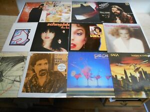 "Rock, Pop, Songwriter - Interpreten "" S "" Lot 30 - Sammlung 12 LPs"