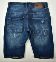 G-STAR RAW, Arc 3D Restored 1/2 Jeans Shorts, Gr. W33 Used Vintage Look