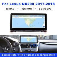 Android Stereo Navigators For Lexus NX NX200 NX300 NX300h NX200t 2018 Head Units