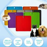 Pet Lick Food Mat for Dogs Cat Licky Slow Feeder Cat Dog Feeding Licki Mats Best