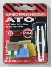 Brand New Littelfuse Emergency ATO Fuse Kit - 6 ATO Fuses with PULLER 094370 #8