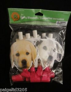 Amscan 8 Party Blowouts - Puppies / Dogs