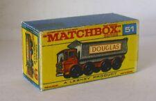 Repro Box Matchbox 1:75 Nr.51 8 Wheel-Tipper