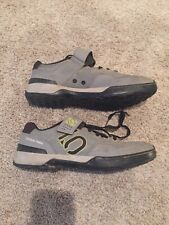 Mens Five Ten Kestrel Cycling Mountain Bike Shoes Size 12.5  Gray Black 2 Bolt
