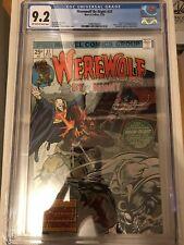 CGC 9.2 Werewolf by Night #37 *OW-White*1976*3rd App. Moon Knight