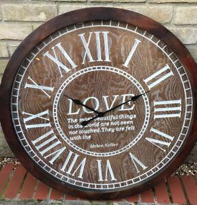 Large wall clock 85cm