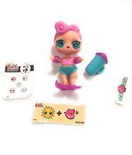 lol surprise doll Series 3 wave 1 WAVES 3-027 Big Sister Pink Hair Blue eyes