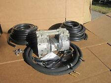 BIG MAX Large Pond AERATION /AERATOR SYSTEM 100ft. WTD Hose & 2 Lg Diffusers!