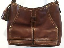 ***FINAL PRICE*** Dooney & Bourke Florentine Kingston Hobo Shoulder Bag Chestnut