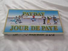 1994 PAYDAY Jour de Paye English French BOARD JEU GAME parker brothers compleTE