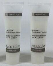 (2X) Murad AHA/BHA Exfoliating Cleanser Age Reform Cream Cleanse Tone 1.0 Fl Oz.