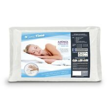 Almohada de cama Sleeptime de espuma viscoelástica 70x40cm con funda- Memoy Foam