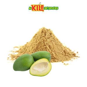 Dry Mango Ground Powder (Amchur /Amchoor) Free UK P&P 100g - 10kg
