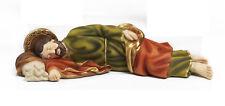 Statua San Giuseppe dormiente cm 19,5 in resina by Paben