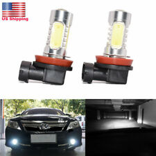 H11 LED Fog Light Bulb For Toyota Camry Corolla Matrix RAV4 Tacoma 2Pcs From US