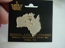 OLYMPICS  SYDNEY AUSTRALIA  PIN NEW ...COOL  IT IS IN THE SHAPE OF AUSTRALIA!!