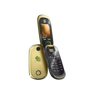 Phone Mobile Phone Motorola U9 Gold Gsm Camera Bluetooth Top Quality