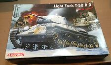 TECHMOD 3005 - 1/35 - LIGHT TANK T-50 with APPLIQUE ARMOUR - NUOVO