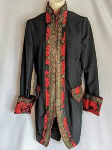 Pirate coat Jacket frockcoat pantomime theatrical Principal boy size 14