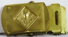 Vintage SOLID BRASS Boy Scouts of America CUB SCOUTS Belt BUCKLE