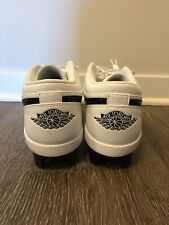 Nike Air Jordan 1 Retro MCS Low Baseball Cleats Size 10.5 CJ8524-100