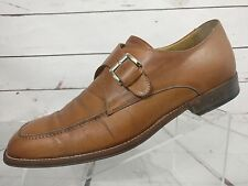 Cole Haan Collection Italy Brown Leather Monk Strap Mens Shoes US 9 M