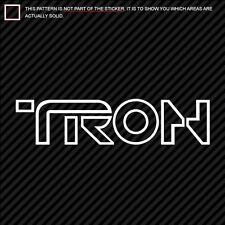 (2) TRON Sticker Decal Die Cut 2010 tron 2