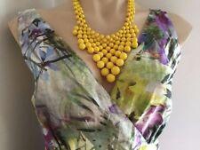Linen Floral Regular Size Maxi Dresses for Women
